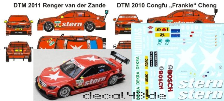 1//43 Decal Mercedes-Benz 190 E 2.5-16 Evolution II Zakspeed Racing VLN 1995